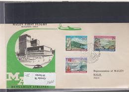 Ungarn Michel Cat.No. FFC 1969 Budapest - Oslo - Brieven En Documenten