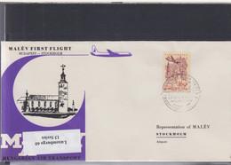 Ungarn Michel Cat.No. FFC 1970 Budapest - Stockholm - Brieven En Documenten