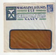 Lettre Illustrée Entreprise  Magasins Réunis Est,Nancy - Brieven En Documenten