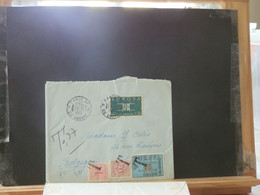 B5251 LETTRE FRANCE  TAXEE 7.20 F   1963 - Covers