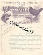 28 0273 DREUX EURE ET LOIR 1924 Beurres Œufs L. PIQUEREAU A LE LOUVET Fruits Dest BEURRERIE COOPERATIVE D AGRAMONT - 1900 – 1949