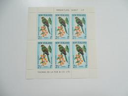 Sevios / Nieuw Zeeland / **, *, (*) Or Used - Blocs-feuillets