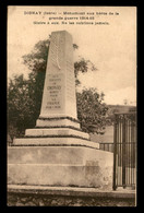 38 - DIONAY - MONUMENT AUX MORTS - Other Municipalities