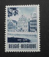 1953 : Cob 922* : Quai Aux Herbes à Gent  ( Charnière D7) Voir Verso - Ungebraucht