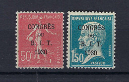 Frankreich Mi.249+250 * Kat.20,-€ - Neufs