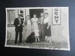 Oude 1955  FOTOPOSTKAART    MACQUENOISE - Momignies