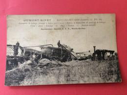 Carte De ST-SULPICE-HAM (80), Entrepr. De Battages Mr Dumond-Binet- Monte-gerbes - Otros Municipios