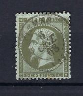 Frankreich Mi.18a Gestempelt Kat.40,-€ - 1862 Napoléon III.