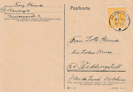 AM-Post 4 Frühe Karten  Aus Hamburg ( 30.6.1945 , 4.7.45 , 11.7.45 , 1.8.45 - American/British Zone