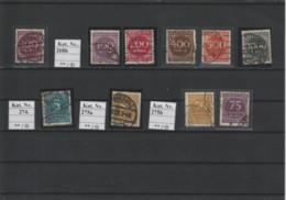 DR Kleines Lot Gest. Infla Geprüfte Marken (4) - Used Stamps