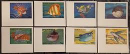 Vietnam Viet Nam MNH Imperf Stamps 1984 : Exotic Fishes / Fish (Ms442) - Vietnam