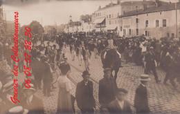 EPINAL : (88) CARTE PHOTO Rétrospective De La Révolution (autre Vue) Défilé Des Cent Culottes - Epinal