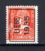 PRE292A MNH** 1935 - LIEGE 1935 - Tipo 1932-36 (Ceres E Mercurio)