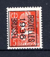PRE302B MNH** 1936 - BRUXELLES 1936 BRUSSEL - Tipo 1932-36 (Ceres E Mercurio)
