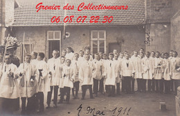 EPINAL : (88) CARTE PHOTO  Epinal 7 Mai 1911 - Epinal