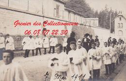 EPINAL : (88) CARTE PHOTO  Epinal Première Communion 7 Mai 1911 (autre Vue) - Epinal