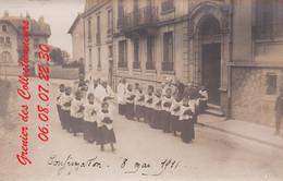 EPINAL : (88) CARTE PHOTO  Epinal Confirmation 8 Mai 1911 - Epinal