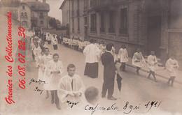 EPINAL : (88) CARTE PHOTO  Epinal Confirmation 8 Mai 1911 Autre Vue - Epinal