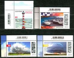 BRD - Mi 3613 / 3616 ◲ ✶✶ # - Nassklebende Marken Komplett,  Ausg.: 01.07.2021 - Unused Stamps