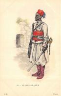 CPA   SPAHIS SAHARIEN - Uniformen