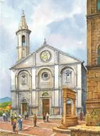 PIENZA IL DUOMO VIAGGIATA + ANNULLLO - Other Cities