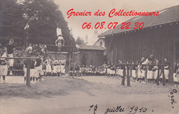 EPINAL : (88) CARTE PHOTO  Gymnastique 17 JUILLET 1910 (autre Vue) Popol - Epinal