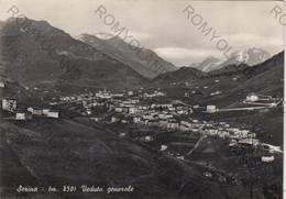 CARTOLINA  SERINA,BERGAMO,LOMBARDIA,VEDUTA GENERALE,STORIA,CULTURA,BELLA ITALIA,MEMORIA,IMPERO,VIAGGIATA 1956 - Bergamo