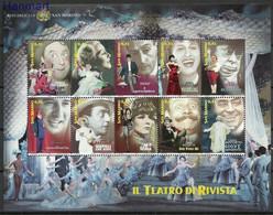 San Marino 2005 Mi Sheet 2210-2219 MNH  (XZE2 SMRark2210-2219) - Dance