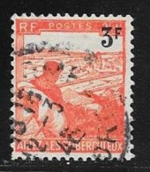 N° 750  FRANCE  - SURCHARGE -  OBLITERE  - 1946 - Usados