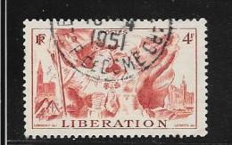 N° 739 FRANCE  - OBLITERE  - LIBERATION ALSACE / LORRAINE  - 1945 - Usados