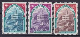 Comores 1970 Mi. 110-12 Freitagmoschee In Moroni Complete Set MH* - Unused Stamps