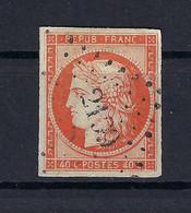 Frankreich Mi.5b Gestempelt Kat.750,-€ - 1849-1850 Ceres