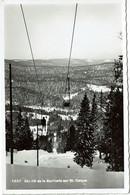 Téléferique / Aerial Cableway  1537 Ski Lift  De La Barillete Sur St Cergue - Funiculaires