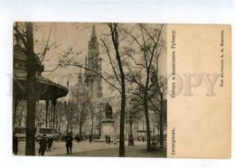 248387 BELGIUM Antwerp Cathedral OLD Russian Korsini Postcard - Antwerpen