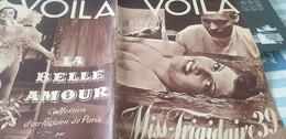 VOILA 39/MISS FRIGIDAIRE/TOSCANINI /SEX APPEAL PAUL POIRET /STEVE PASSEUR SEDAN /AVION NOUMEA PARIS - 1900 - 1949