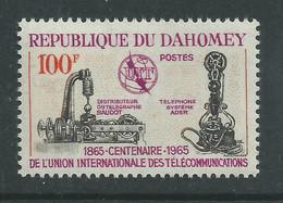 Dahomey  N° 222  XX  Centenaire  De L' Union Internationale Des Télécommunications , Sans Charnière, TB - Benin - Dahomey (1960-...)