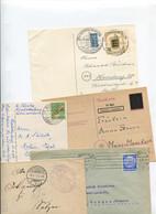 1479) 10 Belege Gesamtdeutschland - Machine Stamps (ATM)