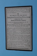 DP Josephus BROUWERS ( Maria SOMERS ) Rucphen 14 Mei 1846 - Esschen 12 April 1907 ( Zie Foto's ) ! - Todesanzeige
