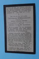 DP Christianus SCHELLEKENS ( Joanna FEYEN ) Zundert 9 Juli 1847 - Calmpthout 17 April 1906 ( Zie Foto's ) ! - Todesanzeige