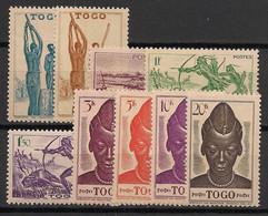 Togo - 1942-44 - N°Yv. 217 à 225 - Série Complète - Neuf * / MH VF - Nuevos