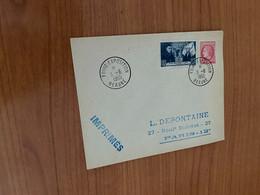 Lettre 1950 - Foire Exposition Beaune - 1921-1960: Moderne