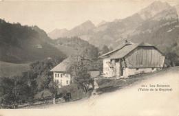 SUISSE FRIBOURG #28914 LES SCIERNES VALLEE DE LA GRUYERE - FR Fribourg
