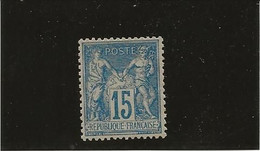 TYPE SAGE N° 90 NEUF SANS CHARNIERE -ANNEE 1878 -  COTE : 75 € - 1876-1898 Sage (Type II)
