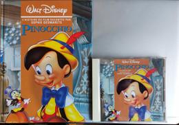 WALT DISNEY -Pinocchio - L HISTOIRE DU FILM RACONTEE PAR Jean Amadou Sophie Desmarets- LIVRE Avec CD - CD