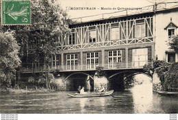 D77  MONTEVRAIN  Moulin De Quincamgrogne - Autres Communes