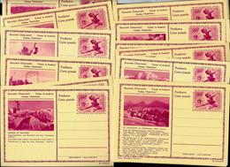 N° P  428 Donc 7 Avec Téléphériques  Neuves (soit 28 Cartes) Côte 5 Euros /pièces( 2019) - Entiers Postaux