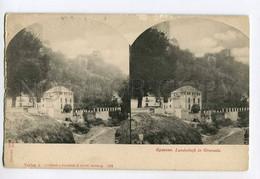 286764 SPAIN Granada Vintage Stereo View Postcard - Granada