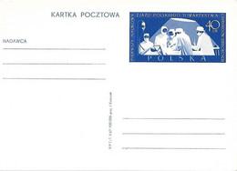 POLOGNE Polska - Don Du Sang - Entier Neuf - Pierwsky Naukowy -Chirurgow Dzieciecych - Lettres & Documents