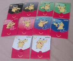 Pochettes Emballages Pokémon 25 Ans (Jeux Imprimés à L'intérieur) -  Faciale Pikachu - Vides & Sans Suppléments - Pokemon