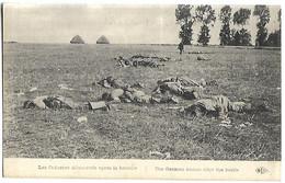 MILITAIRE - Guerre 1914-1918 - Les Cadavres Allemands Après La Bataille - Guerre 1914-18